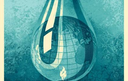 Earth in Crises by Shepard Fairey