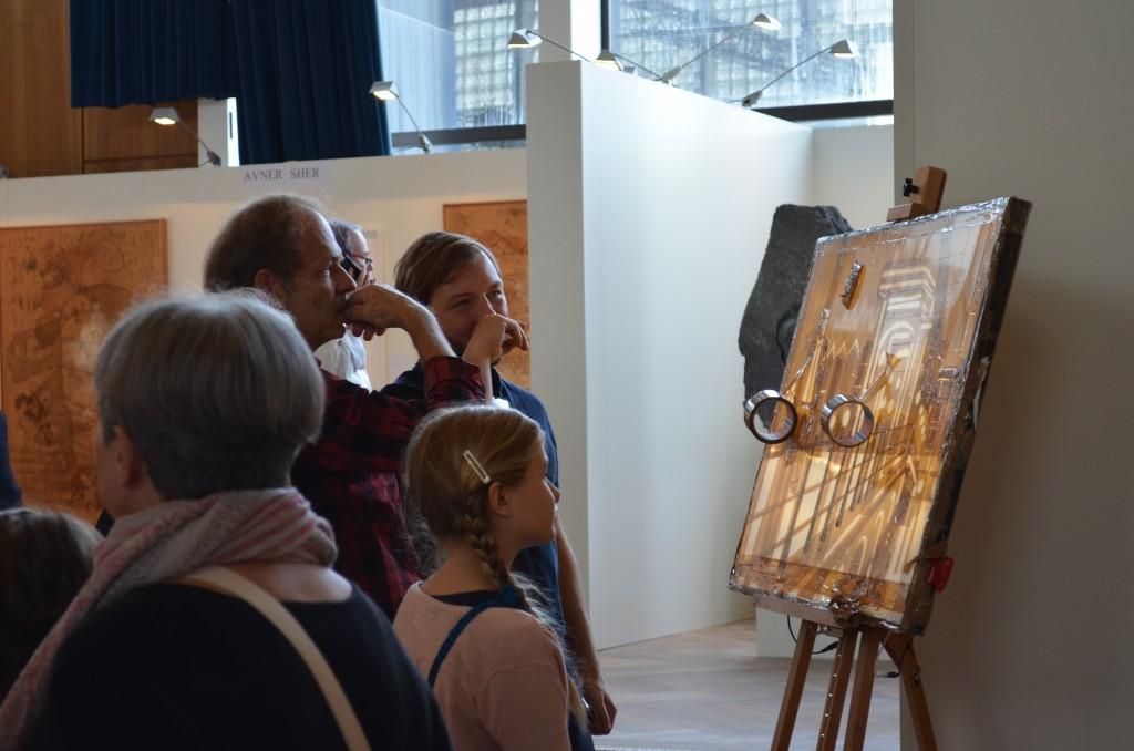 Max Zorn and Stick Together exhibit at at Art International Zurich in Switzerland